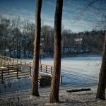 Jezioro Długie - zima