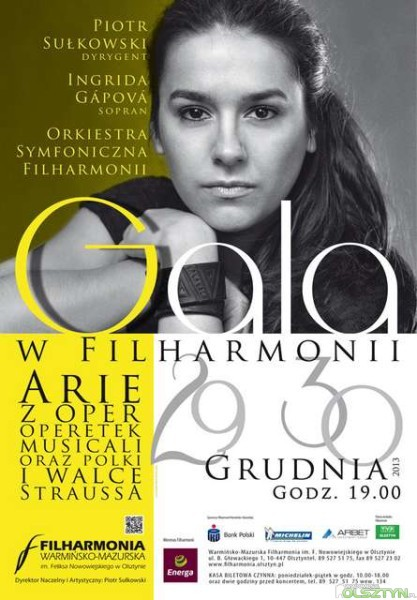 Gala w Filharmonii Warmińsko-Mazurskiej