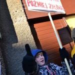 Pikieta przeciw dopalaczom Olsztyn