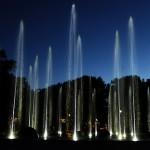 """Pierwsza próba podświetlanej fontanny w Parku Centralnym <i class=""""icon-camera""""></i> <i class=""""icon-film""""></i>"""
