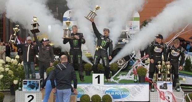 Krzysztof Hołowczyc po raz czwarty wygrał rajd Baja Poland