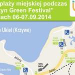 """Dojazd do plaży miejskiej podczas """"Olsztyn Green Festival"""""""
