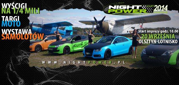 Już w najbliższy weekend runda bonusowa NIGHT POWER
