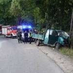 Spowodował wypadek i uciekł z miejsca zdarzenia, nie udzielając pomocy pasażerom – był pijany