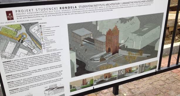 """Projekty łódzkich studentów przed Wysoką Bramą <i class=""""icon-camera""""></i>"""
