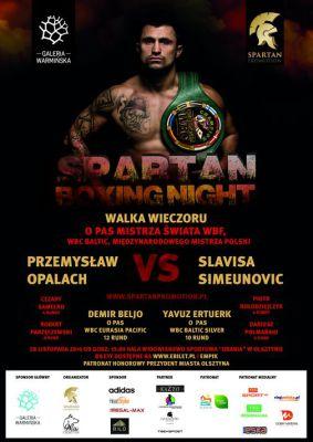 Gala Spartan Boxing Night @ HWS Urania | Olsztyn | warmińsko-mazurskie | Polska