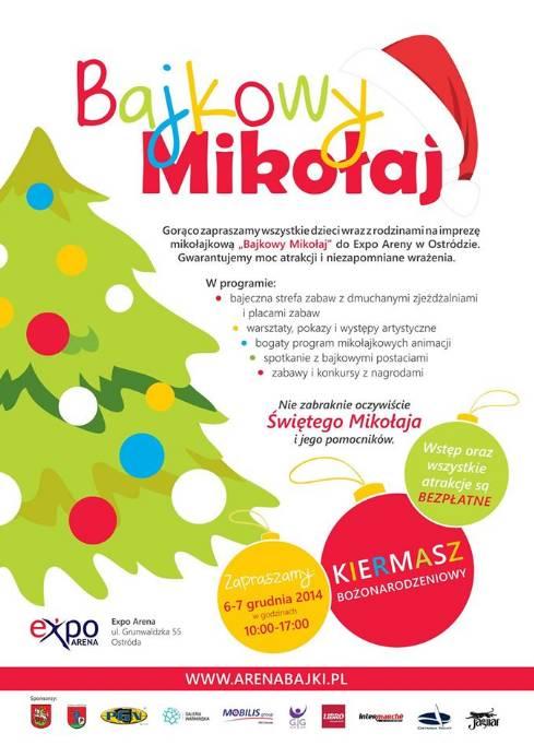 Bajkowy Mikołaj - Expo Arena Ostróda @ Expo Areny w Ostródzie | Ostróda | warmińsko-mazurskie | Polska