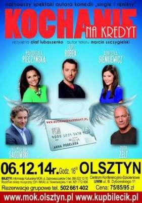 Spektakl pt. Kochanie na kredyt  @ Aula Centrum Konferencyjno-Szkoleniowego UWM | Olsztyn | warmińsko-mazurskie | Polska