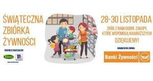 Świąteczna zbiórka żywności w Olsztynie