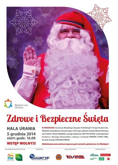 Zdrowe i bezpieczne święta @ HWS Urania | Olsztyn | warmińsko-mazurskie | Polska