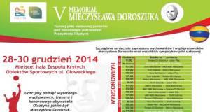 V Memoriał Mieczysława Doroszuka w Piłce Siatkowej