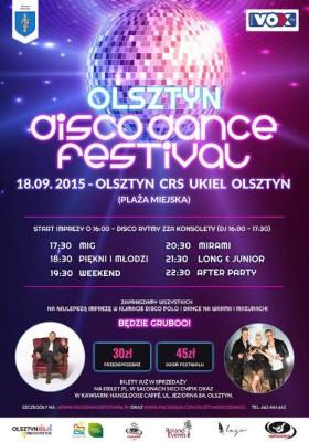 Olsztyn DISCO DANCE Festiwal 2015 @ Plaża CRS Ukiel | Olsztyn | warmińsko-mazurskie | Polska