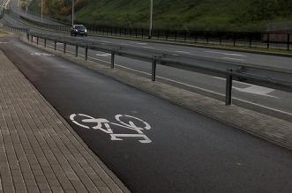 Ścieżka rowerowa/Olsztyn ul. Artyleryjska