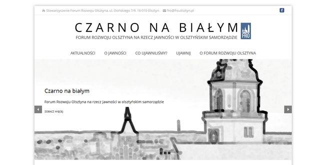 fot. screen - czarnonabialym.fro.olsztyn.pl/