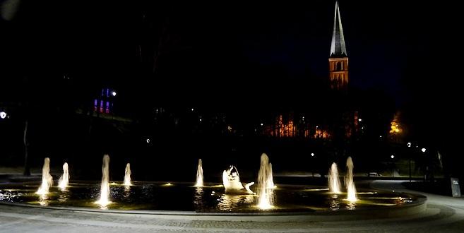fontanna-ryba-podzamcze