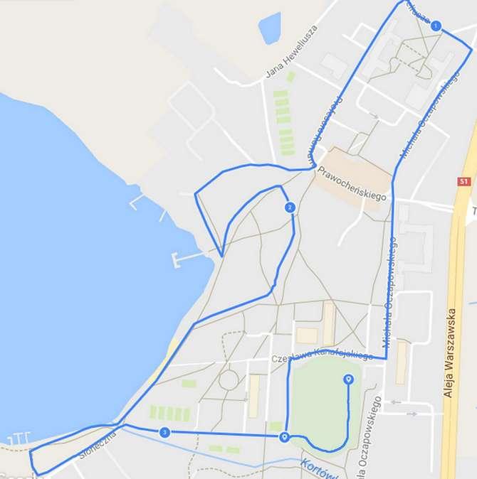 5-bieg-uniwersytecki-trasa