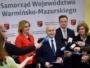 Fot.  Informację o korzystnych zmianach w regionalnym programie marszałek Gustaw Marek Brzezin ogłosił na konferencji w towarzystwie wszystkich członków zarządu województwa