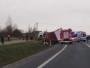 Tragiczny wypadek na DK 16. Nie żyją trzy osoby